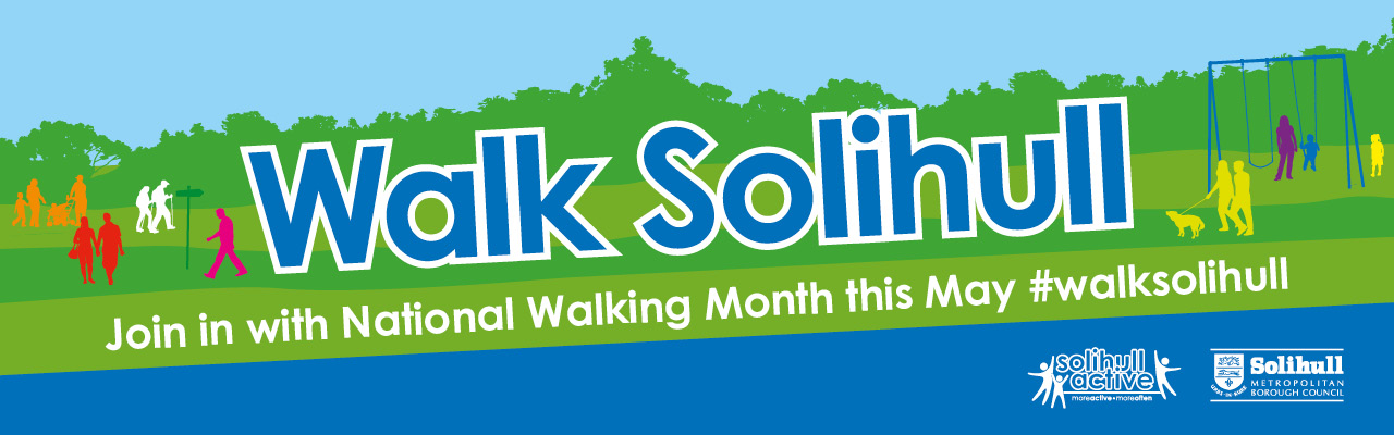 Join in this May with national walking month