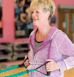 Cancer Rehab exercise for the upper body
