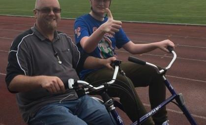 Inclusive cycling project using adapted bikes