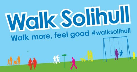 Join in with Walk Solihull every May and get out and about in your area