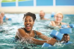 Water Aerobics/Aqua Fit classes are available