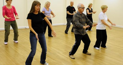 Tai Chi exercise class