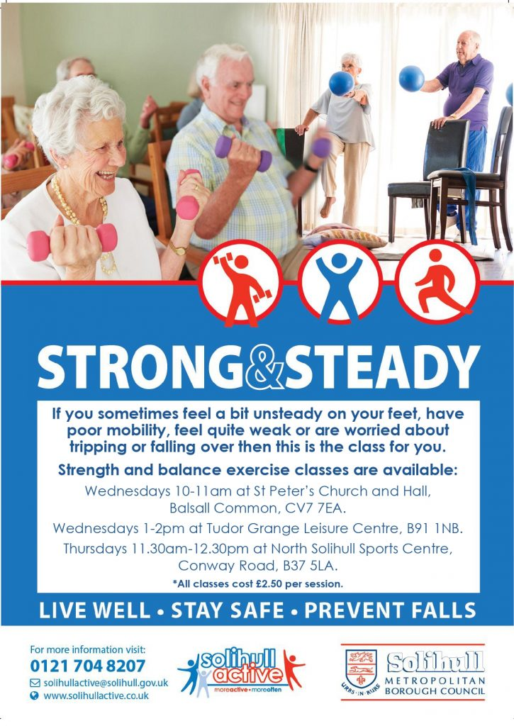 2020 Strong & Steady Programme Information