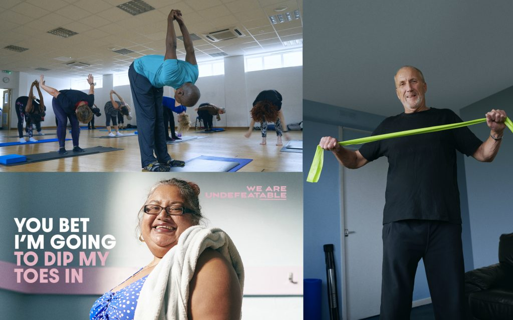 We Are Undefeatable - Supporting people with long term health conditions to be active