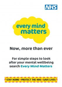 Every Mind Matters campaign poster